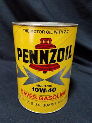 Pennzoil One Quart Empty Composite Can