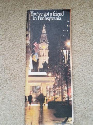 1983 Pennsylvania Dept of Transportation Road Map
