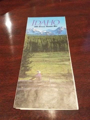 Idaho 1994 Road Map