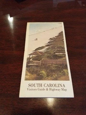 1970s South Carolina Road Map