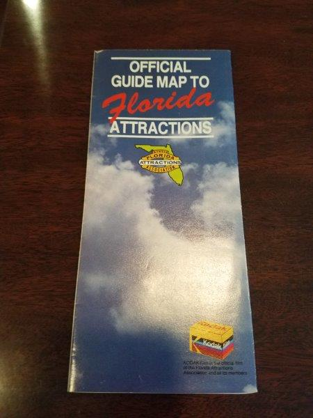 Kodak Florida Attractions Map