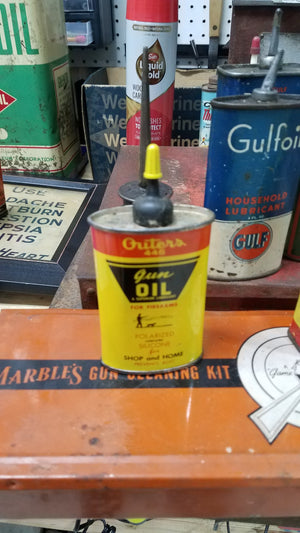 Outer's 3oz Gun Oil Metal Can