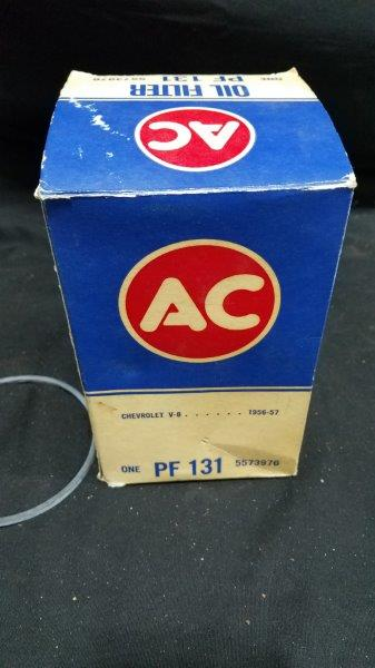 Vintage AC Oil Filter NOS For 56-67 Chevy/Corvette PF131