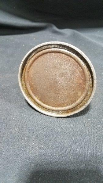 "Ford Embossed Metal Oiler Can 3 1/4"" Base"