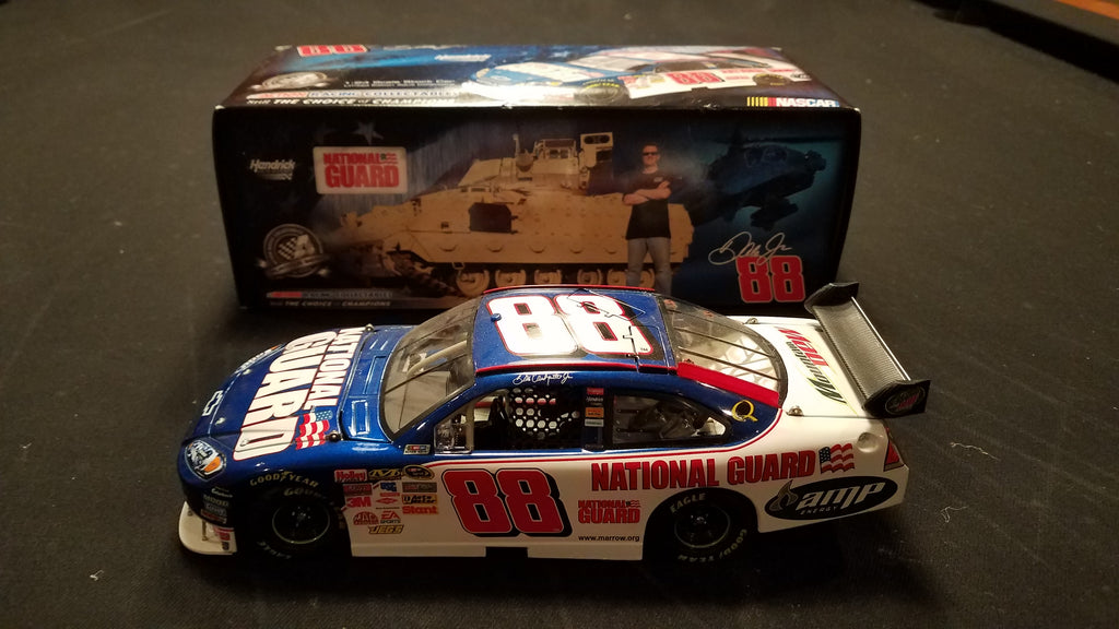 Autographed Dale Earnhardt Jr. 2008 National Guard Nascar Chevy Impala 1:24 Diecast