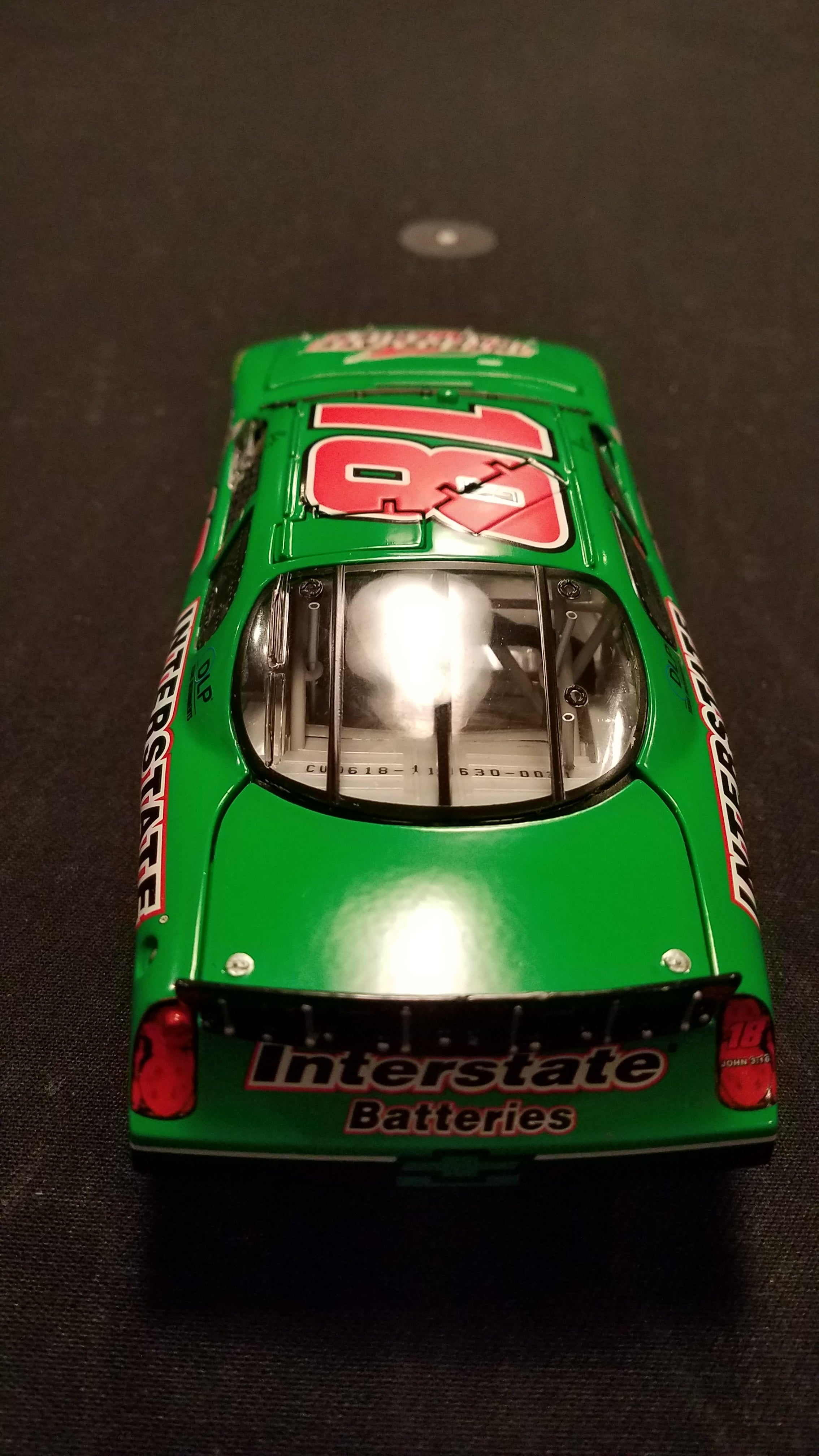 Autographed JJ Yeley 2008 Monte Carlo 1:24 Action Diecast
