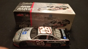 Autographed Kevin Harvick GM Goodwrench Car 1:24 Diecast in Original Box