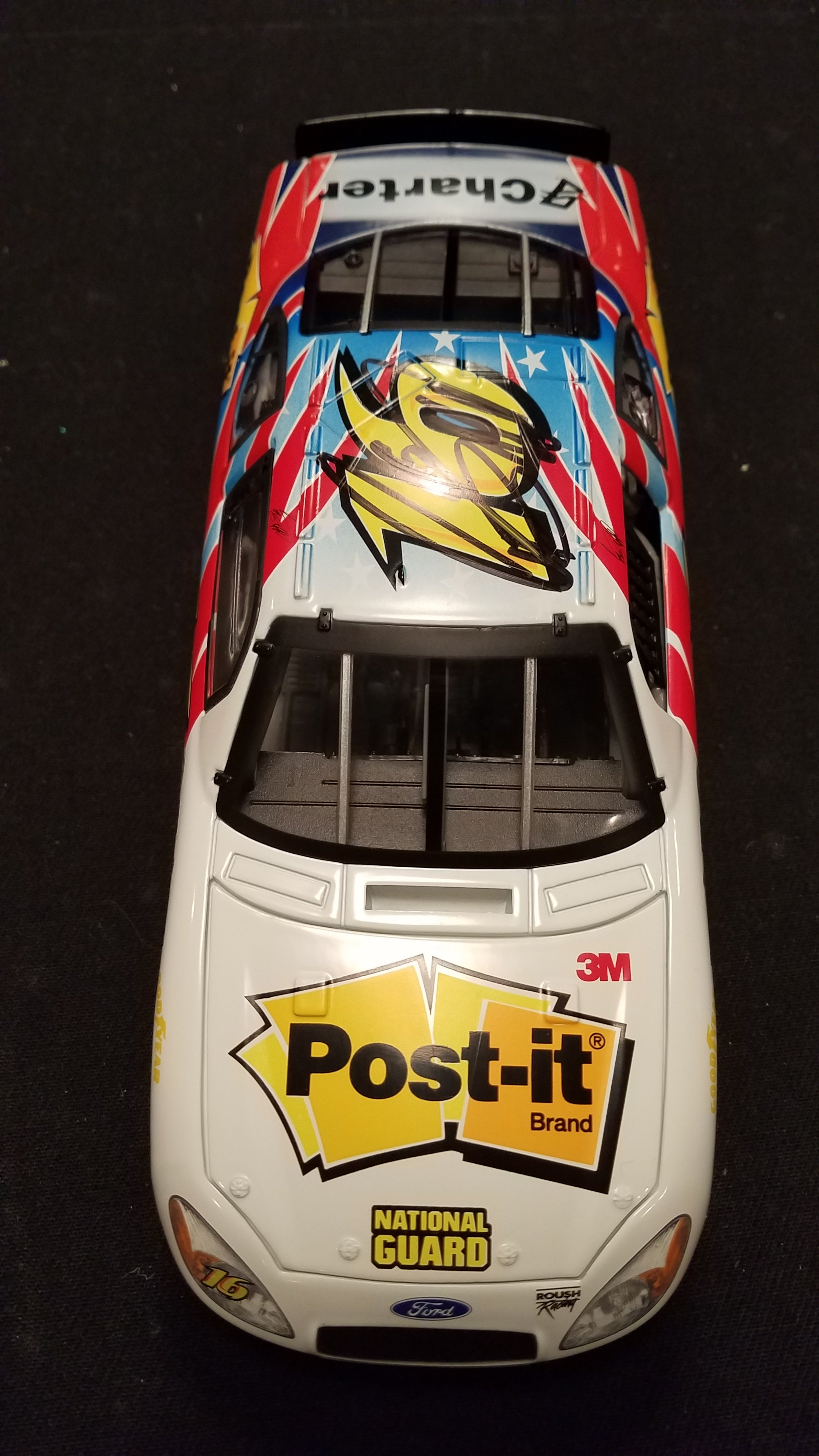 Autographed Greg Biffle Post It Ford 1:24 Diecast
