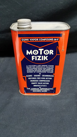 Motor Fizik Gunk Oil 1 Quart Full Metal Can