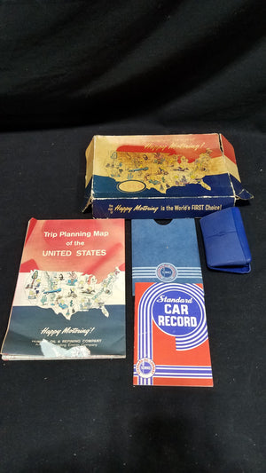 Lot of Esso Travel Kit and Standard Oil Of Indiana Car Record
