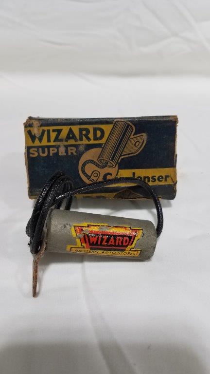 Antique Wizard Western Auto Store Condenser with Box