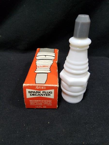 Champion Spark Plug 1.5 oz Decanter with Original Box