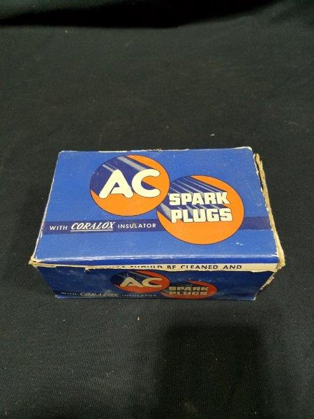 "AC Coralox 48 Spark Plugs in Original Boxes (lot of 10) 14mm Thread 13/16"" Hex"