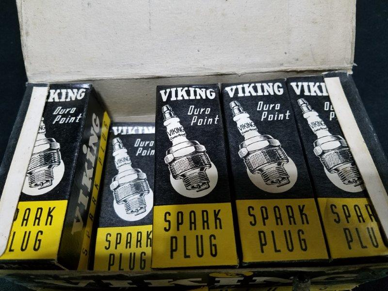 Viking Duro Point  78N Spark Plugs in Original Boxes (Lot of 10)