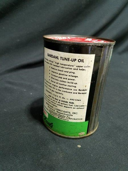 Bardahl Tune-Up Oil 15 oz Metal Oil Can