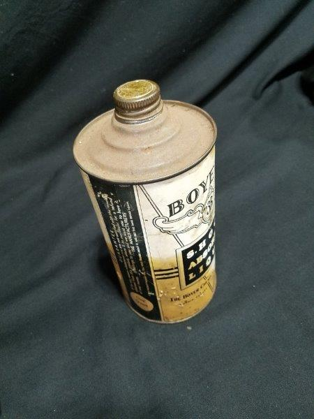 Boyer's 3B Shock Absorber Liquid  1 Quart Full Metal Can