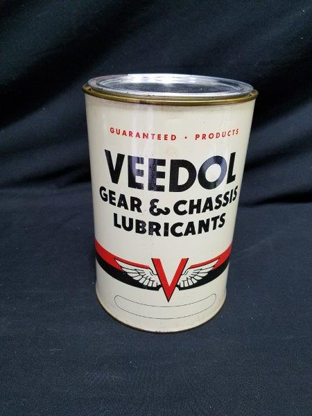 Veedol 5 lb Metal Grease Can