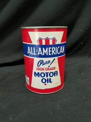 All-American Pure! High Grade Motor Oil Full Composite Can