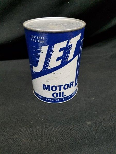 Jet Motor Oil Royal Oil Corp Rare Empty Quart Composite Can