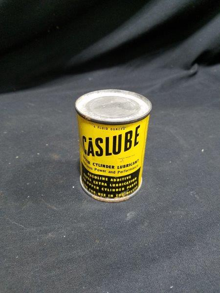 Casite Caslube Upper Cylinder Metal Lubricant 4 oz Full Metal Oil Can