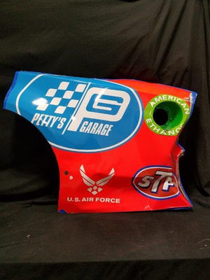 "Richard Petty Autographed 43 Race Used Car Sheet Metal  31"" x 45"""