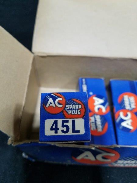 AC Coralox 45L Spark Plugs NOS (Lot of 4)