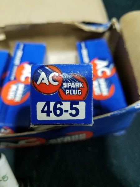 AC Coralox 46-5 Spark Plugs NOS (Lot of 4)