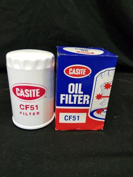 Hastings Casite CF-51 Oil Filter with Graphics NOS