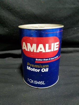 Amalie Quart Premium Motor Oil Can