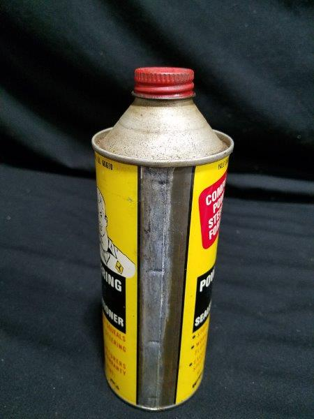 Yale Engineering Conetop 15 oz Power Steering Fluid Can with Graphic