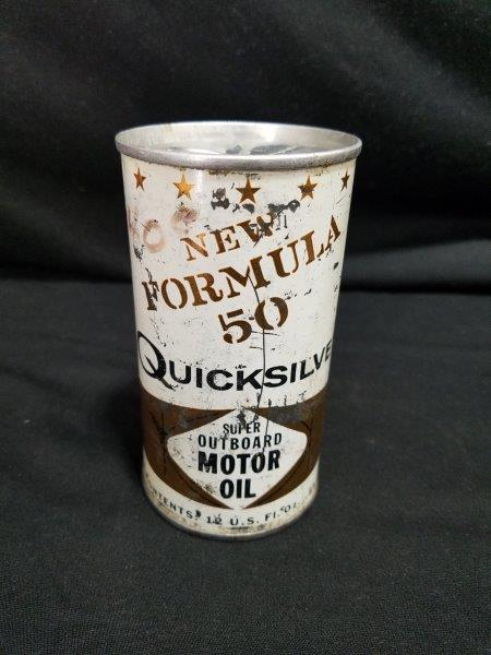 Quicksilver Outboard Motor Oil Can