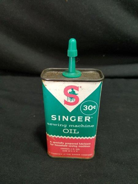 Singer Sewing Machine Oil Pricer Oiler Can