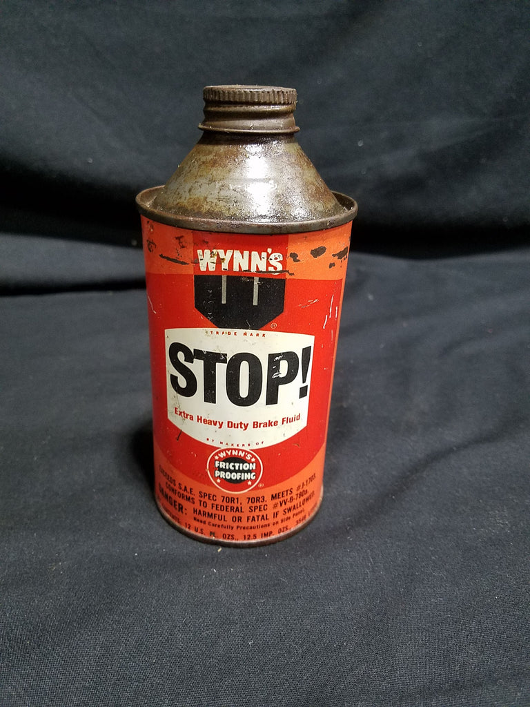 Wynn's Friction Proofing Stop! Brake Fluid 12 oz Conetop Can