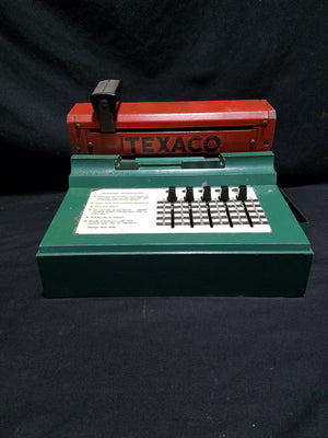 Texaco Credit Card Sales Machine