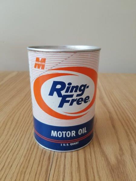Macmillan Full Quart Ring Free Motor Oil Can