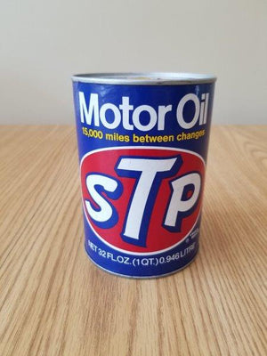 STP Full Quart Motor Oil Can