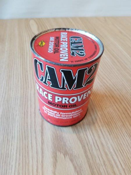 CAM2 32oz Race Proven Motor Oil Can