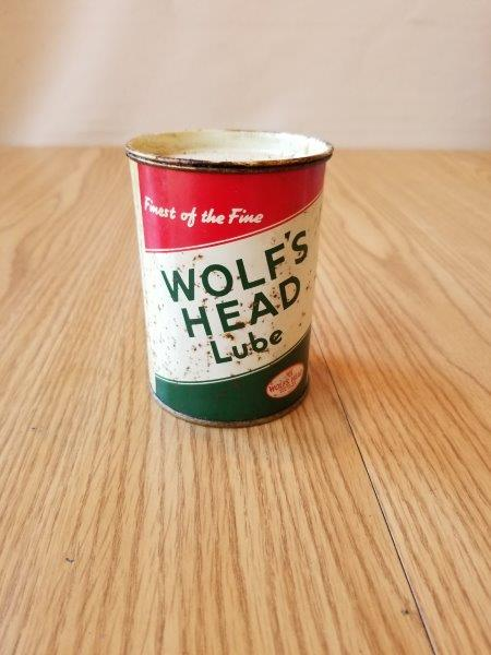 Wolf's Head 1 Lb Grease Can