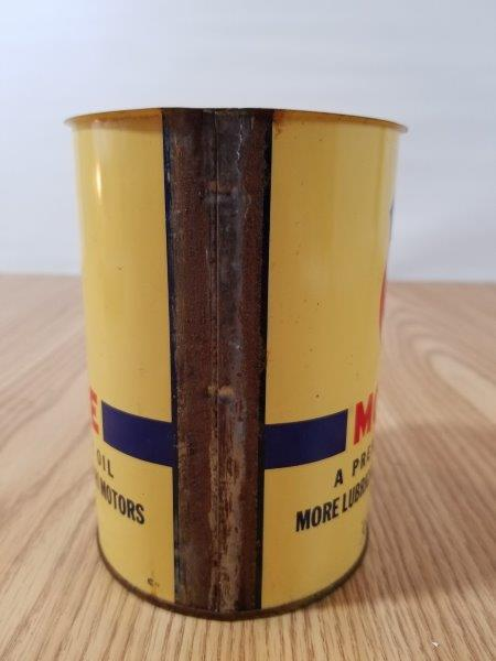 MFA Mo-Lube Motor Oil Can