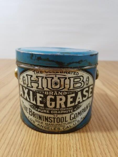 HUB Axle Grease Can
