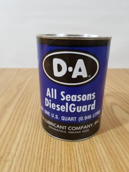 D-A DA Diesel Guard  Motor Oil Can