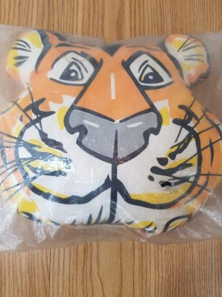 Esso Motor Oil Gasoline Tiger NOS Pillow