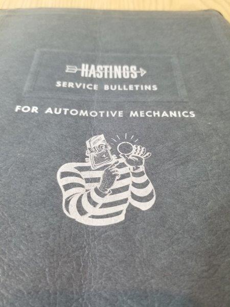 Hastings Casite Piston Rings 1962 Service Bulletin Manual