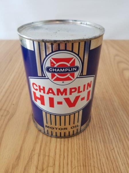 Champlin HI-V-I Oklahoma Motor Oil Can