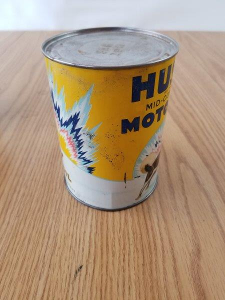 Husky Mid-Continent Motor Oil Can