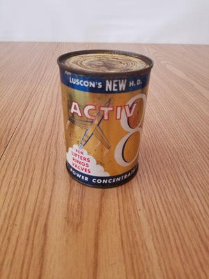 Luscon's Activ 8 Motor Oil Can - Hamden, CT