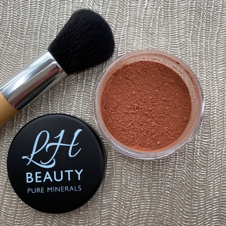 Matt Mineral Blush Powder - Bursting Rose