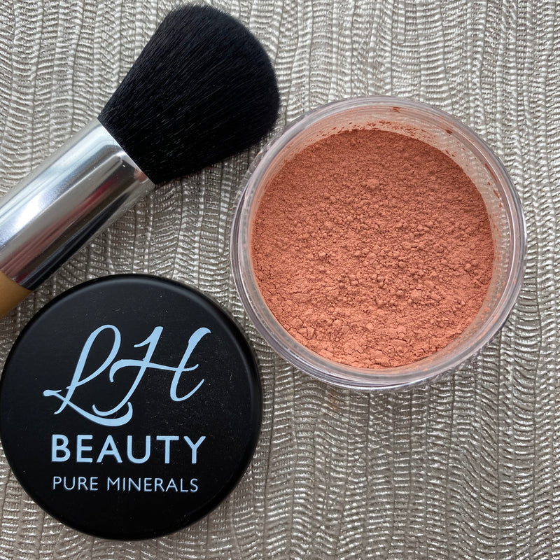 Matt Mineral Blush Powder - Peaches