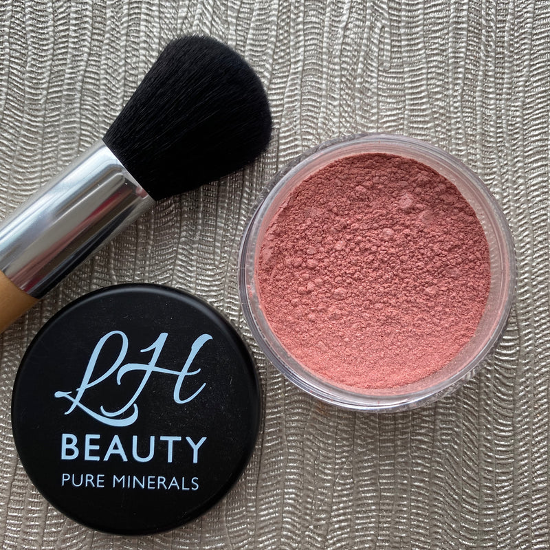 Satin Mineral Blush powder - Rosy Glow