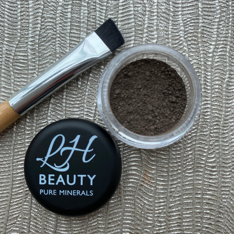 Mineral Brow Powder - Dark Brown
